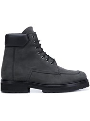 Pierre Hardy 'Chicago' Boots Grey
