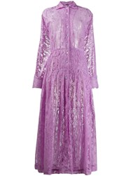 Dodo Bar Or Anabelle Lace Dress Purple