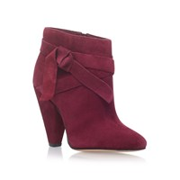 Nine West Acesso High Heel Ankle Boots Red