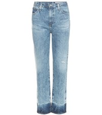 Ag Jeans The Phoebe High Rise Tapered Blue