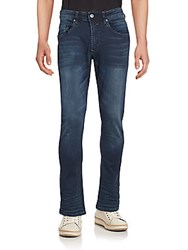 Buffalo David Bitton Super Skinny Faded Jeans Vintage Blue