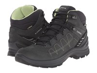 Lowa Tiago Gtx Qc Anthracite Mint Women's Shoes Black