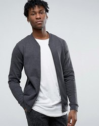 Only And Sons Jersey Bomber Jacket Black