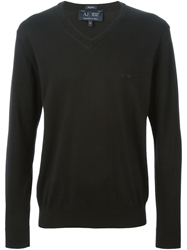 Armani Jeans V Neck Sweater