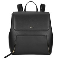 Dkny Bryant Park Saffiano Leather Backpack Black