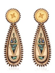Anisha Parmar London Maharani Wooden Earrings