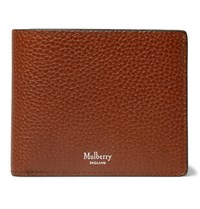 Mulberry Full Grain Leather Billfold Wallet Brown