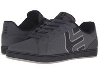 Etnies Fader Ls Dark Grey Black Men's Skate Shoes Gray
