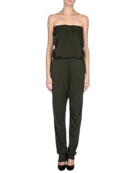 Jo No Fui Pant Overalls Dark Green