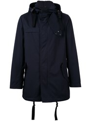 Lanvin Hooded Parka Blue