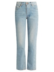 Bliss And Mischief Collector Fit High Rise Jeans Light Denim