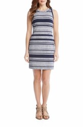 Karen Kane Women's Stripe Jacquard Sheath Dress