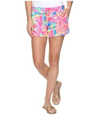 Lilly Pulitzer Vina Shorts Multi Palm Beach Coral Women's Shorts
