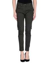 Carla G. Carlag. Casual Pants Dark Green