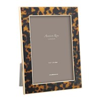 Addison Ross Faux Tortoise Photo Frame Gold 4X6 Brown