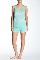 Junk Food Moon Short Green