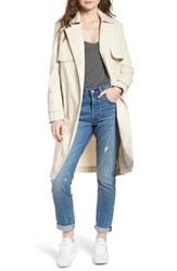The Fifth Label Expedition Drape Trench Bone
