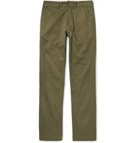 Freemans Sporting Club Winchester Cotton Twill Trousers Army Green