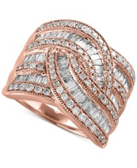 Effy Classique By Diamond Wide Style Ring 1 1 2 Ct. T.W. In 14K Gold Or White Gold Rose Gold