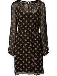 Needle And Thread Prarie Dress Black
