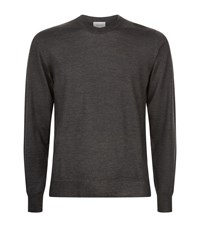 Brioni Cashmere And Silk Jumper Male Grey