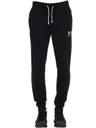 Under Armour Sportstyle Terry Sweatpants Black