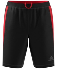 Adidas Men's Designed2move Training Shorts Black Red