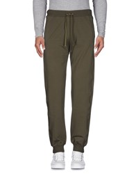 Cesare Paciotti 4Us Casual Pants Military Green