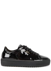 Axel Arigato Black Patent Leather Trainers