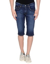Pirelli Pzero Denim Denim Bermudas Men
