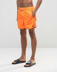 Billabong All Day Layback Shortcut Shorts Orange Black
