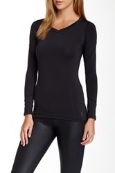 Ryu Tanto Long Sleeve Compression Top Black