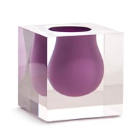 Jonathan Adler Mini Bel Air Scoop Vase Lilac
