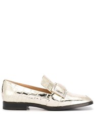 Sergio Rossi Prince Loafers Gold