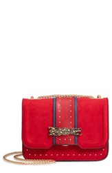 Topshop Panther Crossbody Bag Red
