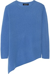 Magaschoni Asymmetric Cashmere Sweater Blue