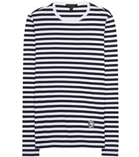 Burberry Pallas Heads Unisex Cotton Top Blue