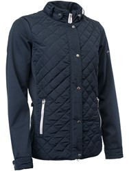 Abacus Winston Quilted Jacket Navy