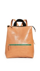 Clare V. Remi Backpack Natural Rustic