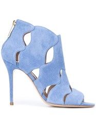 Aperlai Open Toe Sandals Blue