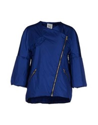 Uniqueness Jackets Bright Blue