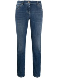 Brunello Cucinelli Skinny Fit Jeans Blue