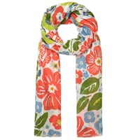 Seasalt Summer Floral Salt Scarf Multi