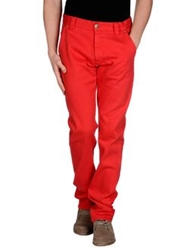 Heavy Project Denim Pants Red