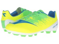 Diadora Dd Na4 R Lpu Yellow Fluo Green Men's Soccer Shoes Multi