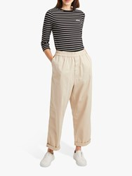 French Connection Cotton Utility Jogger Trousers Sabbia