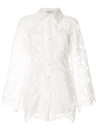 Alice Mccall Baudelaire Broderie Anglais Mini Dress 60
