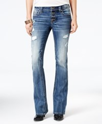 Miss Me Ripped Medium Blue Wash Bootcut Jeans