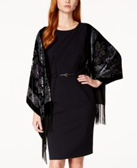 Styleandco. Style And Co. Classic Burnout Evening Wrap Only At Macy's