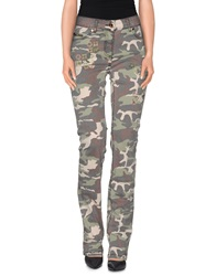 Ean 13 Casual Pants Military Green